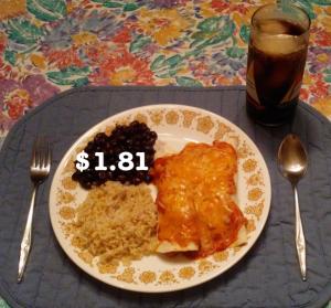 cheap enchiladas