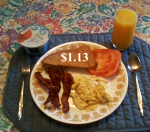 big bacon eggs