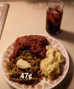 cheap fried chicken