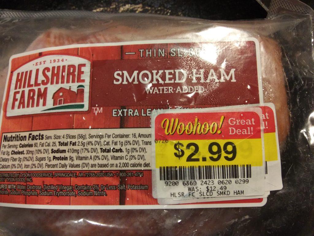 Cheap ham